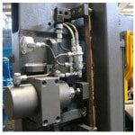Hydraulic Blade Tension