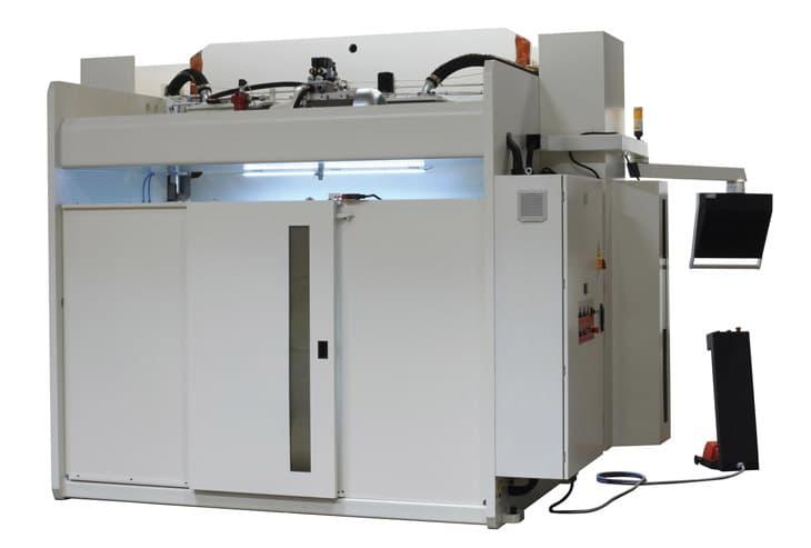 Baykal APHS CNC Hydraulic Pressbrake Rear View