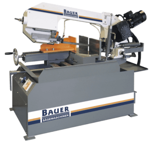 Main view Bauer S280 G Auto Down Feed Double Mitre Bandsaw 415v