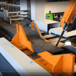Video thumbnail showing the Bauer SBA CNC Saw & Drill Line 415V