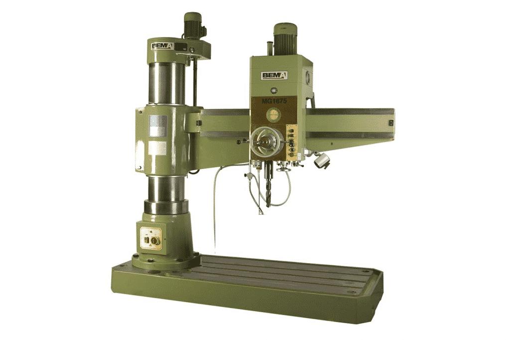 Front view Bema MG1675 Radial Arm Drill