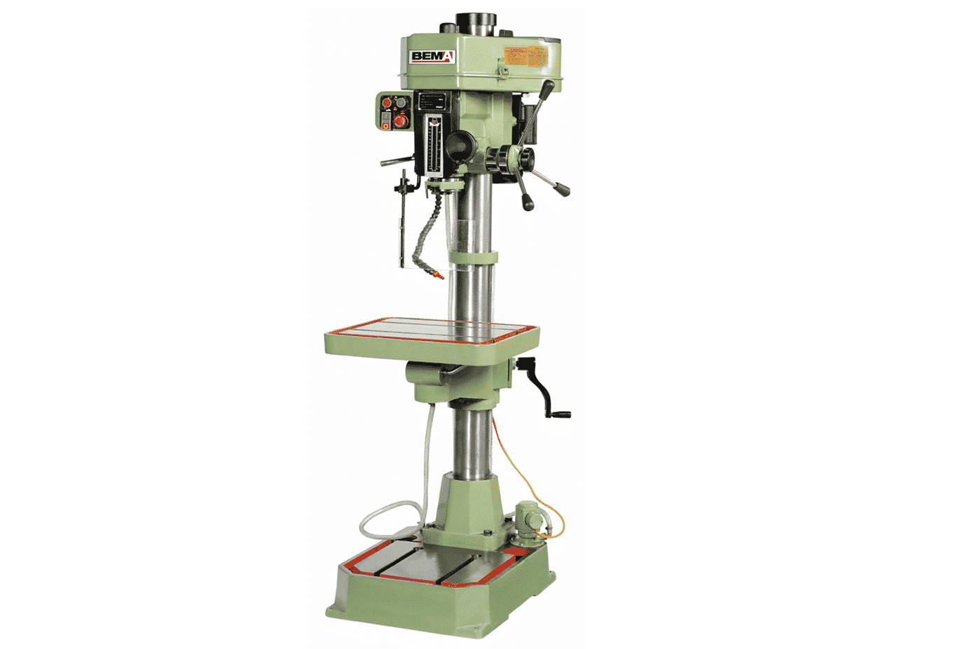 Front view Bema-MG32C-Pillar-Drill