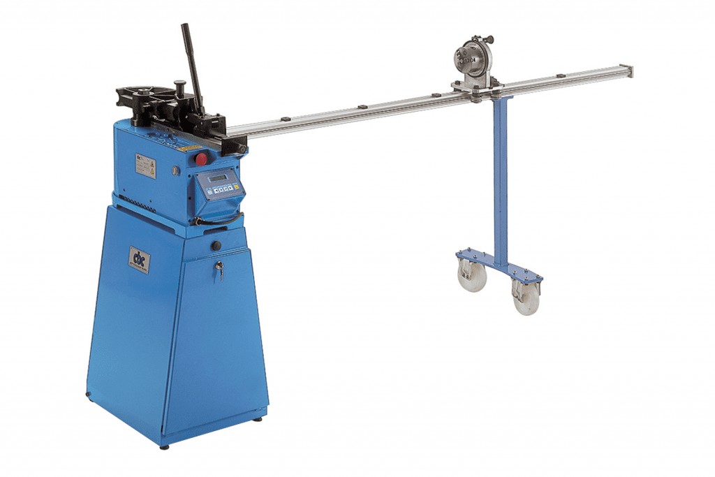 Front view CBC-Uni-60-Manual-Tube-Bender-with-optional-mandrel