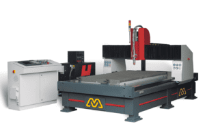 Front view of the Morgan-Rushworth-HDP-High-Definition-CNC-Plasma-Cutting-Machine