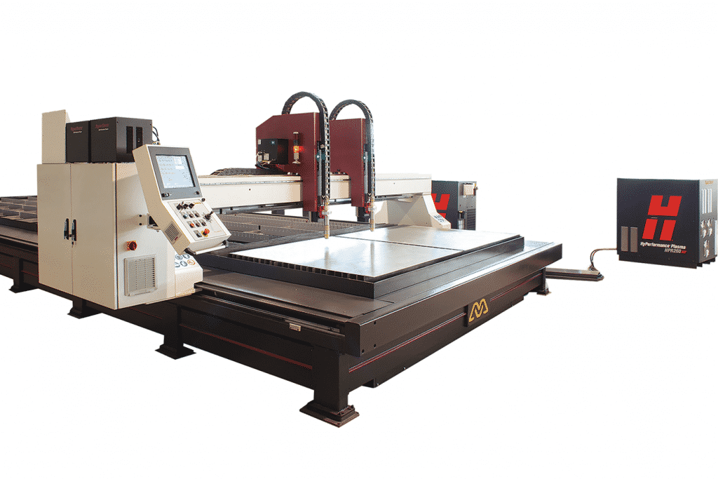 Side view Morgan-Rushworth-HDPX-High-Definition-CNC-Plasma-Cutting-Machine