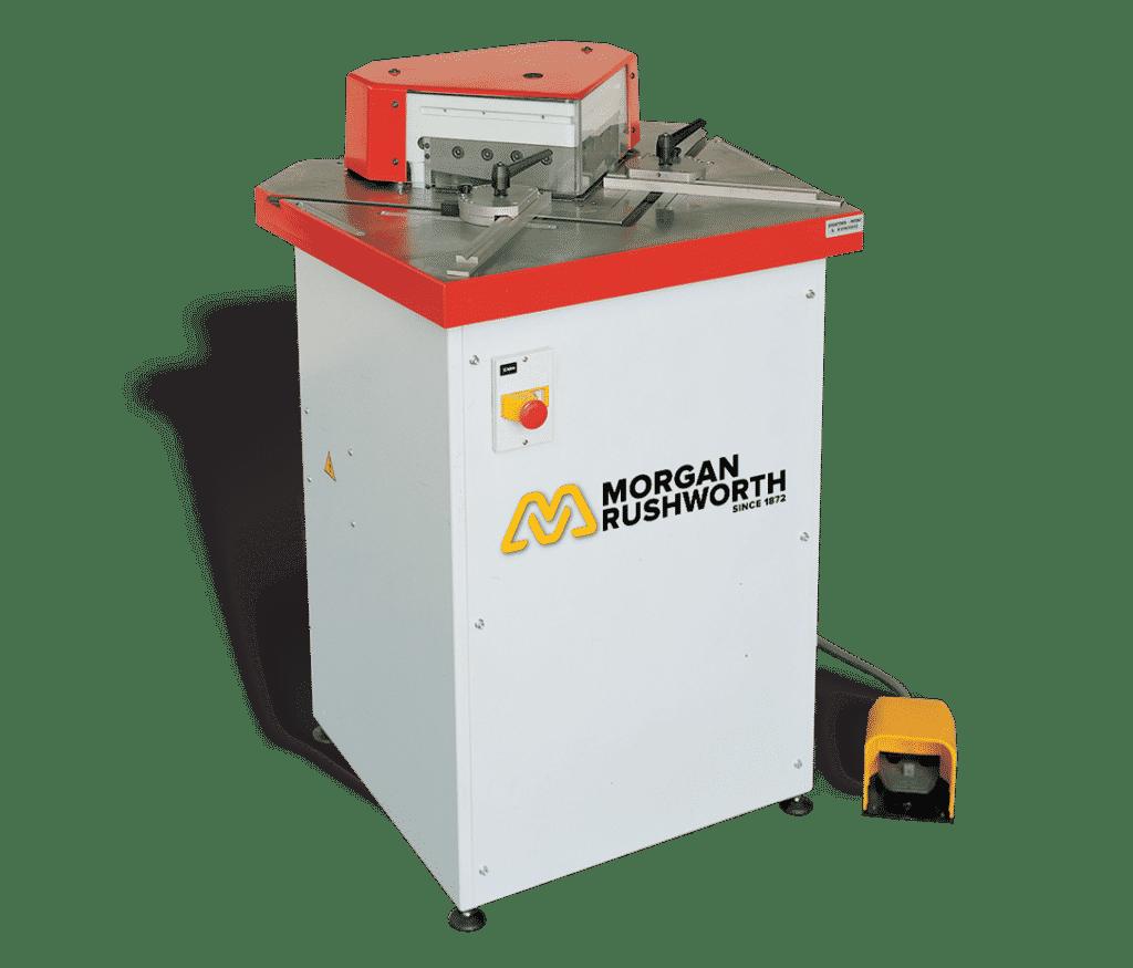 Main view - Morgan-Rushworth-HFA-Hydraulic-Corner-Notching-Machine