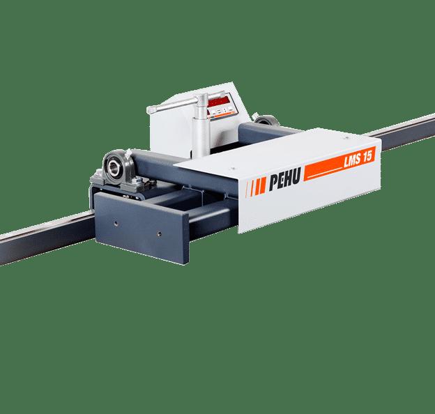 Pehu-LMS15-Roller-Track-Measuring-System