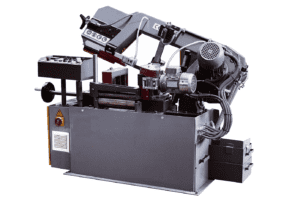 Side view of the Sterling SRA230 Fully Automatic Bandsaw