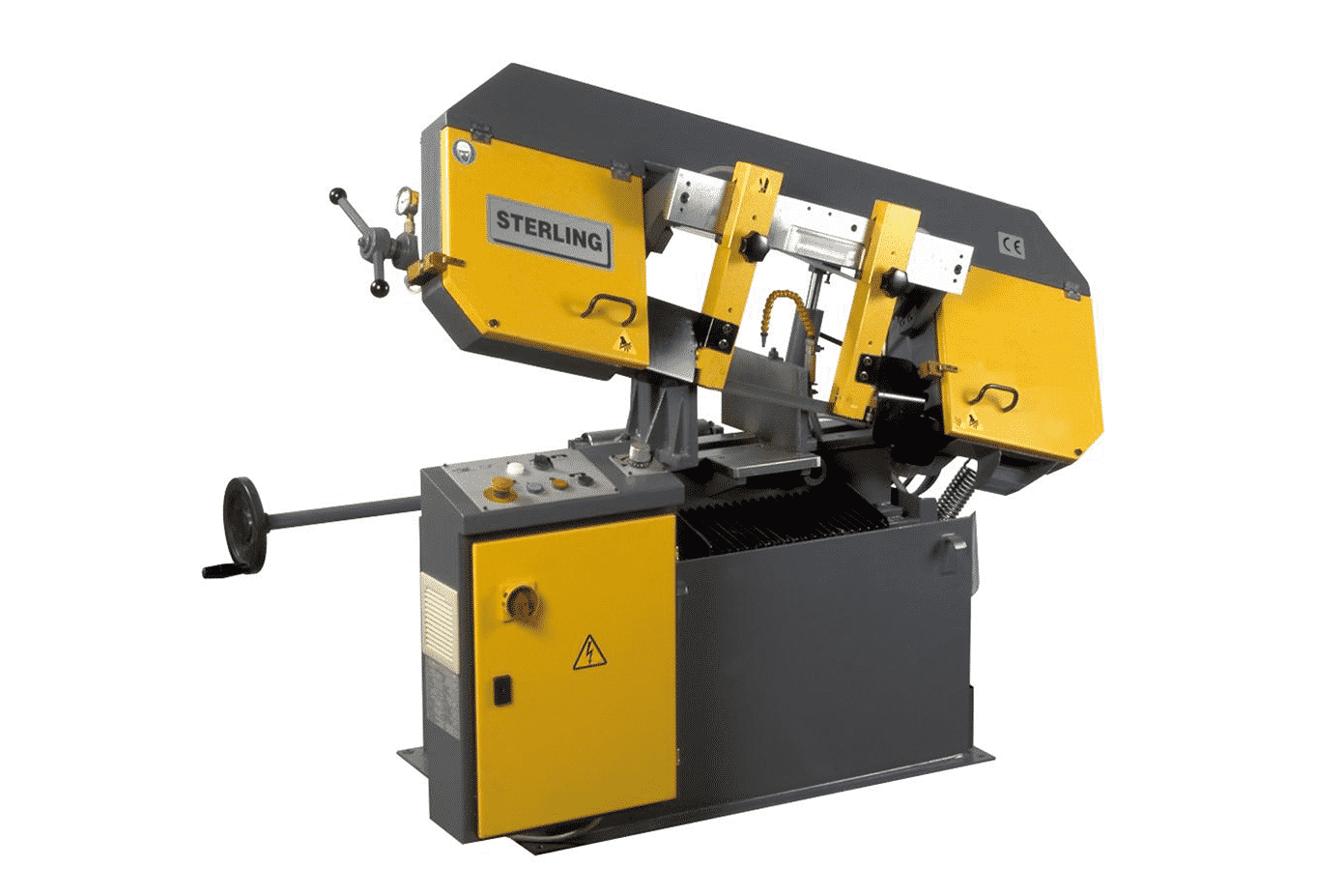 Front view Sterling-SRA280-Single-Mitre-Manual-Bandsaw