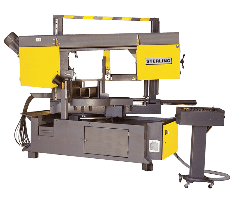 Main view Sterling-STC-360-DGSA-Twin-Pillar-Double-Mitre-SA-Bandsaw-415V
