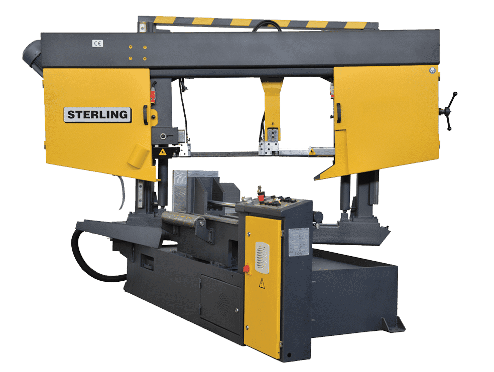 Front view Sterling-STC-GA-NC-Twin-Column-Bandsaw