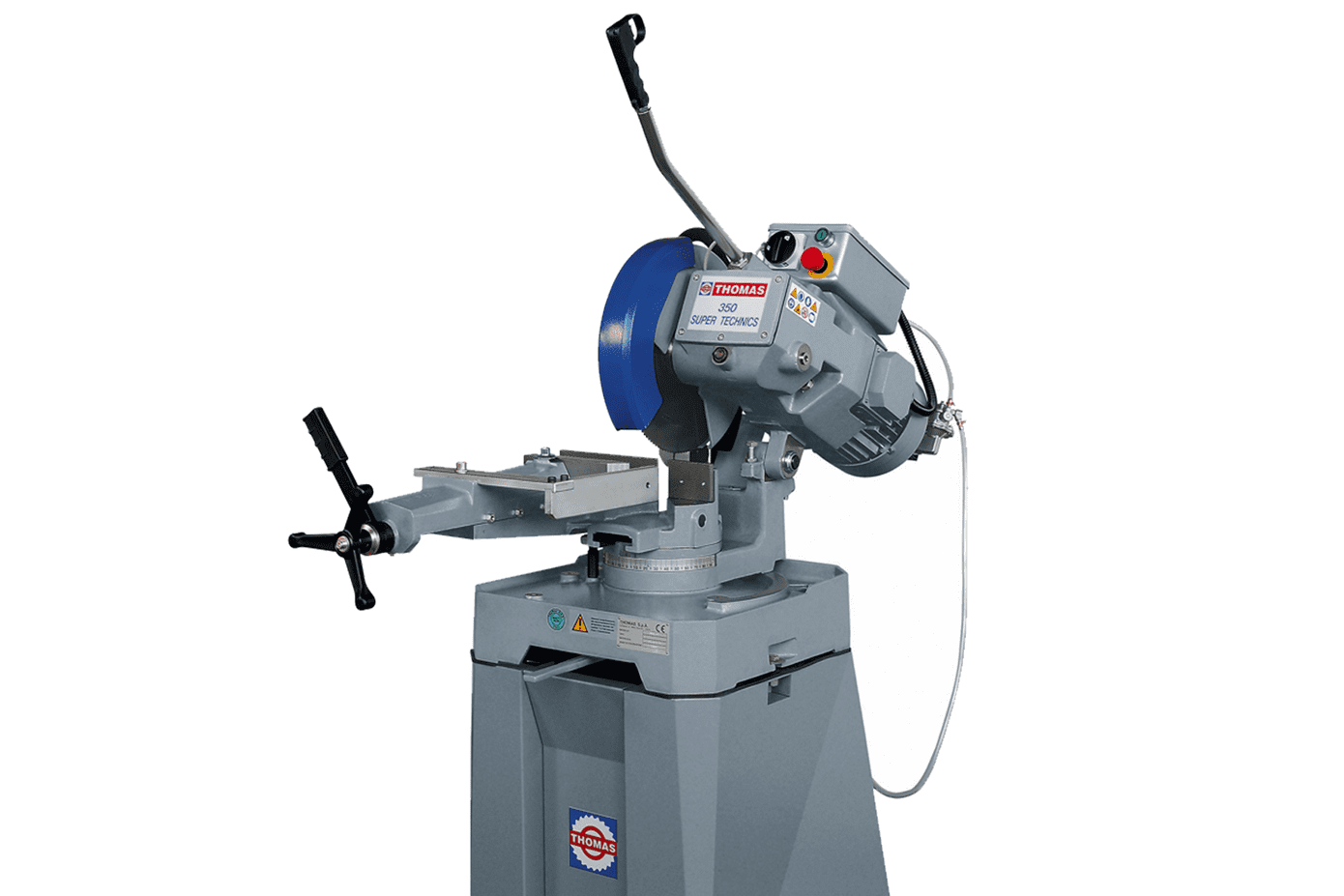 Front view Thomas-Super-Technic-350-Pull-Down-Circular-Saw
