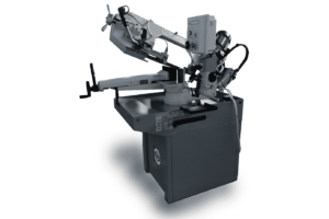 Front view Thomas Zip 29 DM Pull down Auto Down Feed Bandsaw