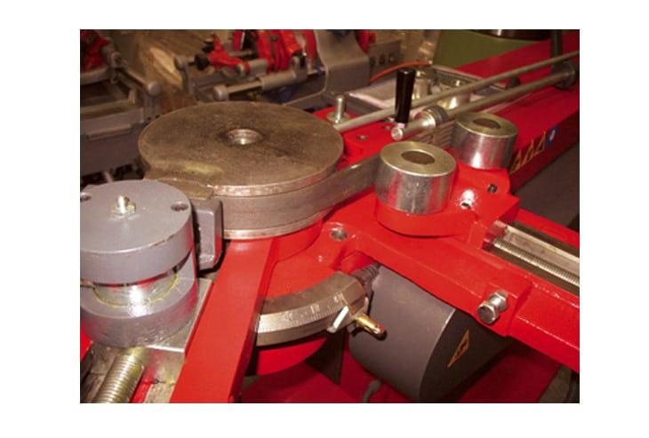 Curvassi C100 Pipe Bending Machine Close Up