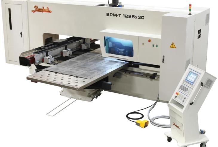 Baykal BPM-T CNC Turret Punch Press