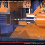 Video thumbnail showing the Ocean Avenger CNC Drill Line Beam