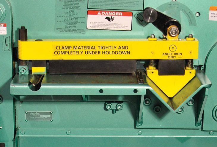 Material Clamping Detail