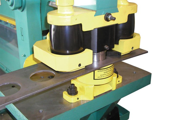 Optional Tooling Attachment for Punching