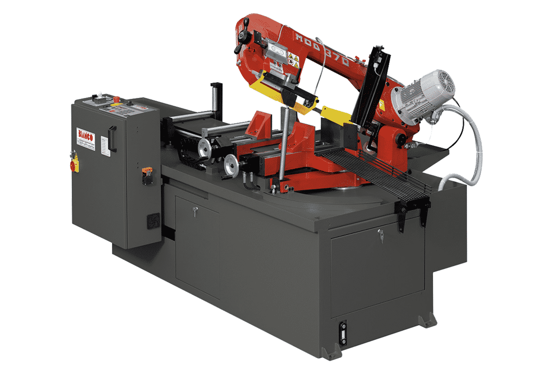 Front view - Bianco-A-CNC-Single-Mitre-Fully-Automatic-Bandsaw