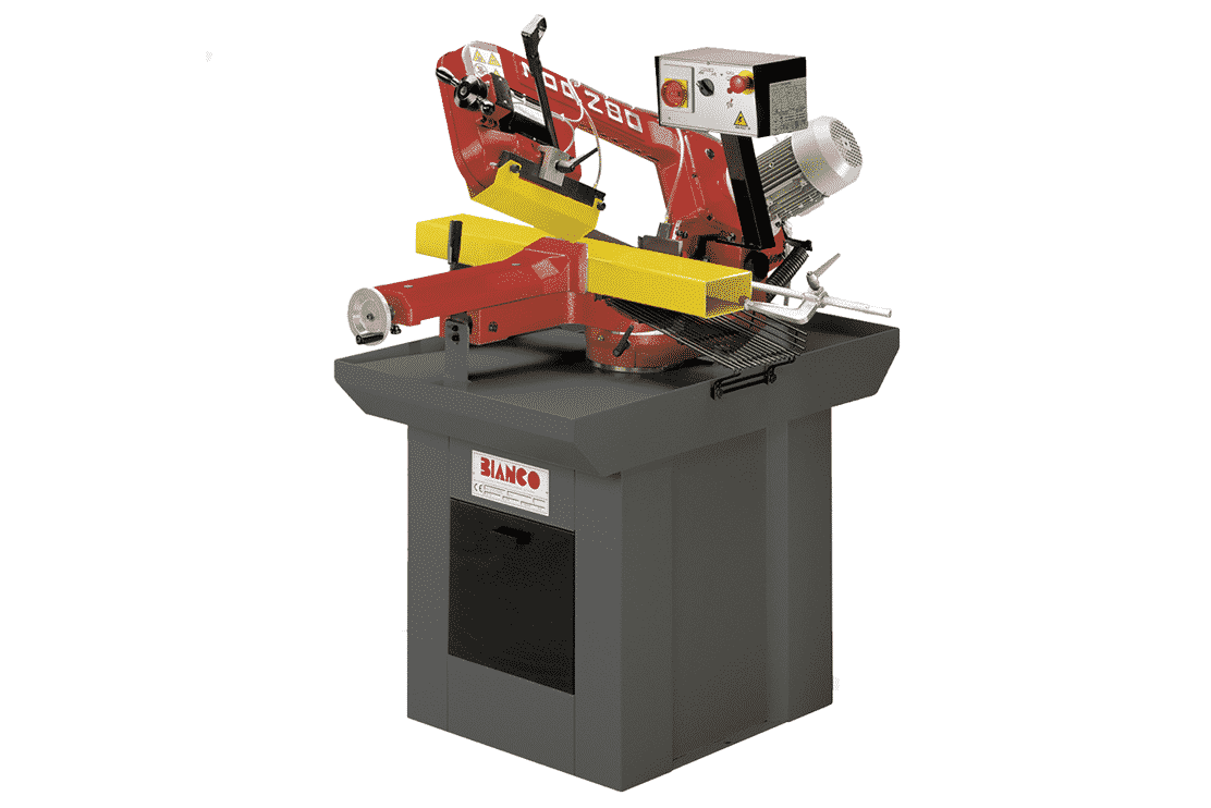 Front view - Bianco-MS-Single-Mitre-Manual-Bandsaw