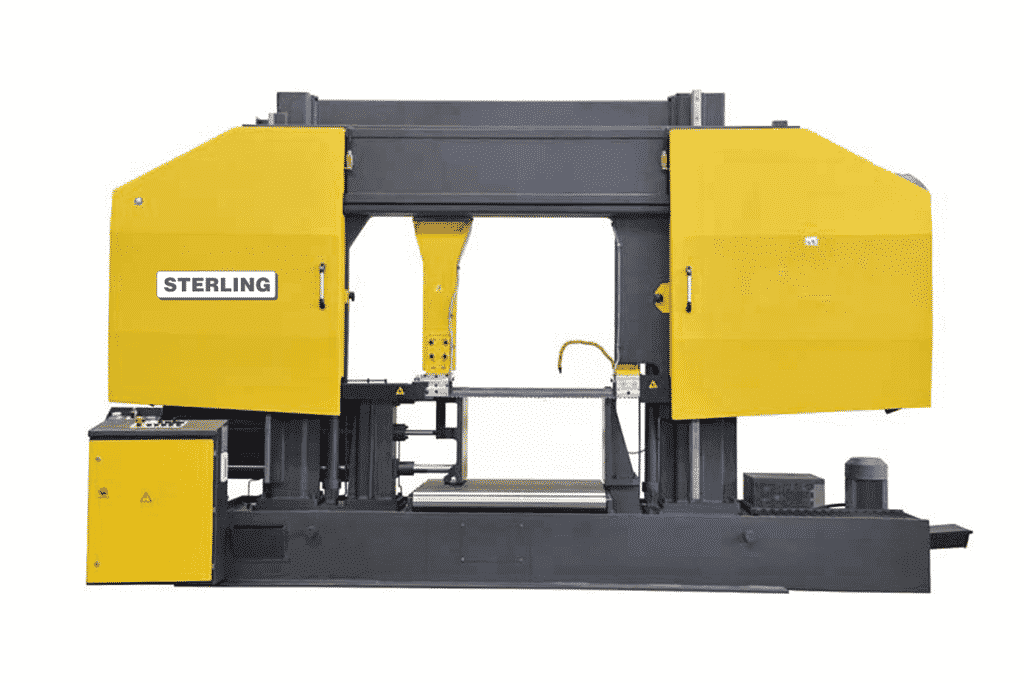 Front view Sterling-STC-1110SA-Twin-Column-Semi-Automatic-Bandsaw