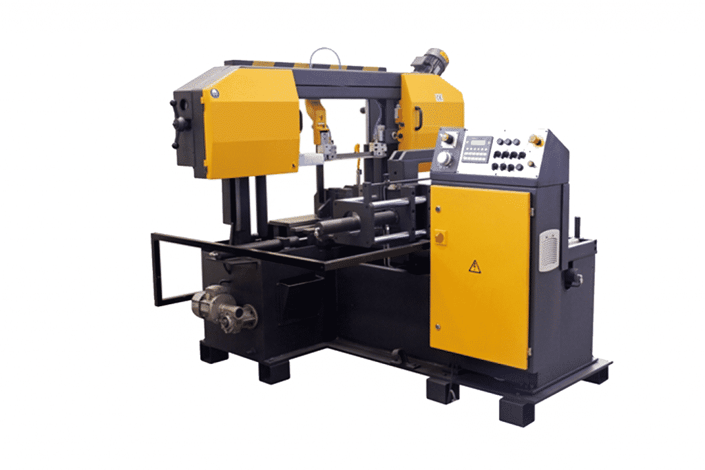 Side view Sterling-STC-325-HA-NC-Twin-Column-Automatic-Bandsaw