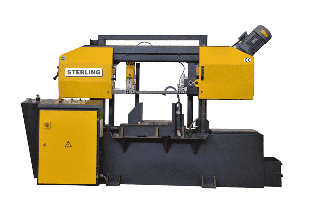 Front view Sterling-STC-380SA-Twin-Column-Semi-Automatic-Bandsaw