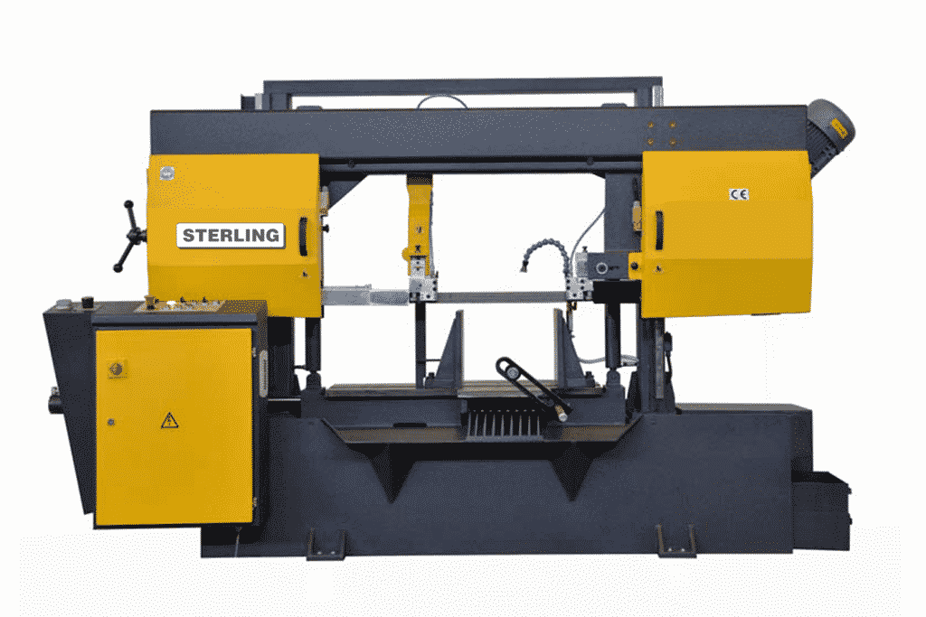 Front view Sterling-STC-460SA-Twin-Column-Semi-Automatic-Bandsaw