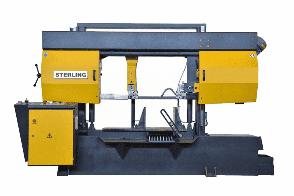 Front view Sterling-STC-560SA-Twin-Column-Semi-Automatic-Bandsaw