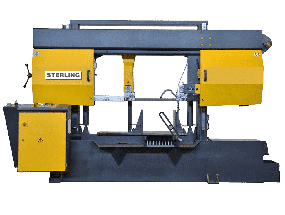 Front view Sterling-STC-SA-Twin-Column-Semi-Automatic-Bandsaw
