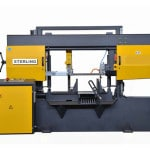Front view Sterling STC380 SA Twin Column Semi-Automatic Bandsaw