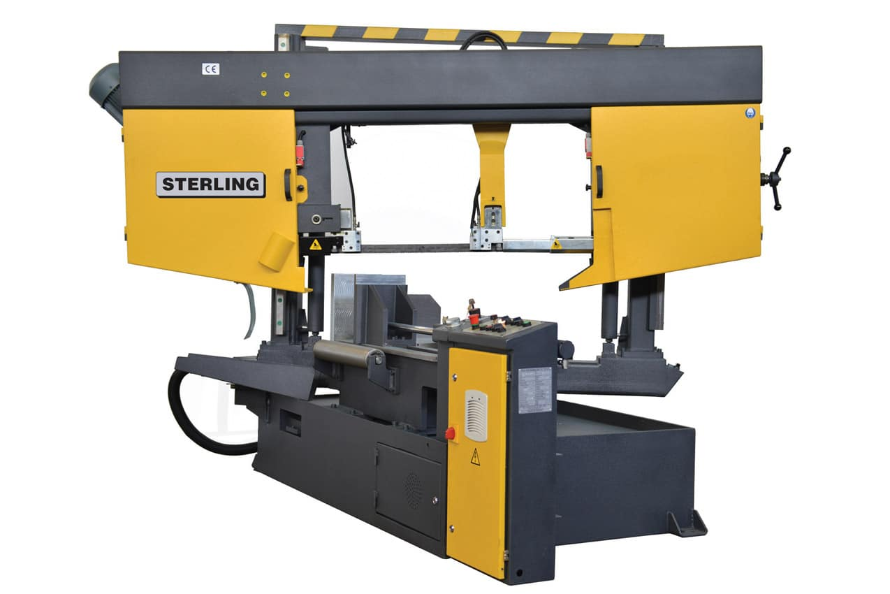 Side view Sterling STC GSA Twin Column Semi-Automatic Bandsaw 415V