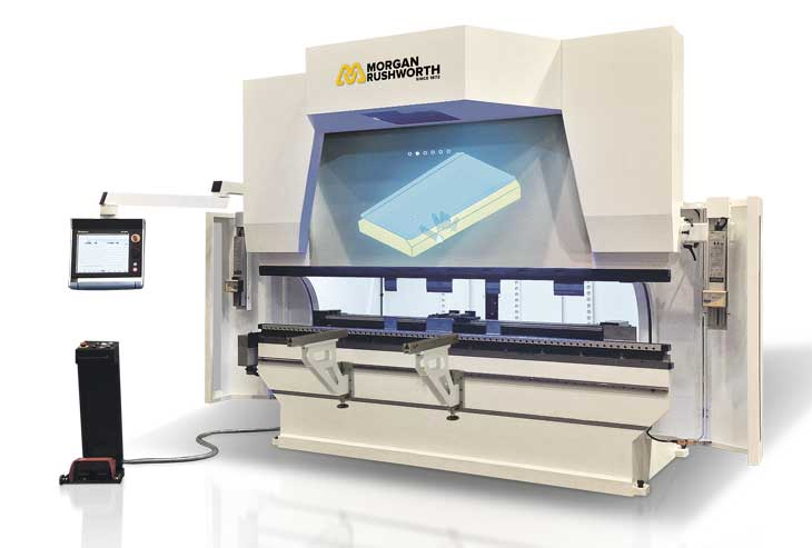 Morgan Rushworth CNC mVision Interactive Pressbrake