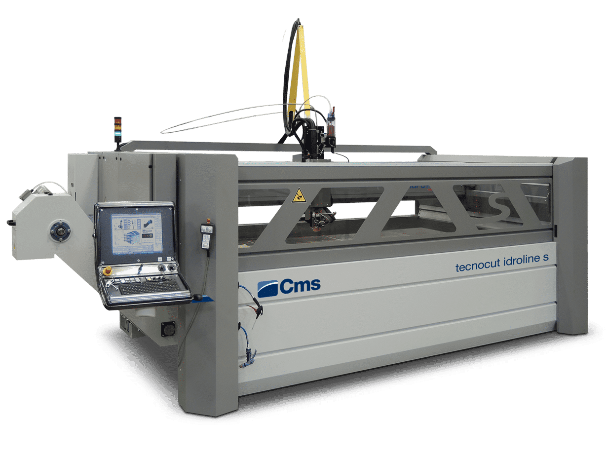 CMS Idroline S Hydro-Abrasive Waterjet Cutter - Selmach
