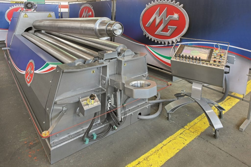 MG CNC Bending Rolls 3m