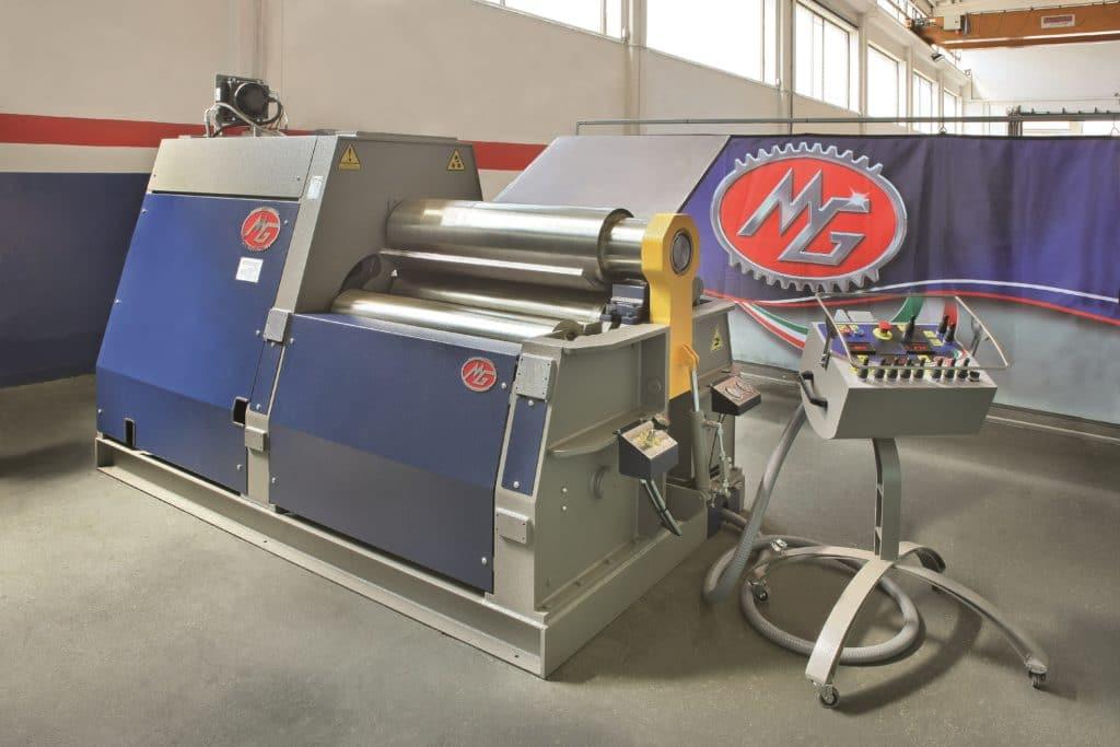MG CNC Bending Rolls 2m