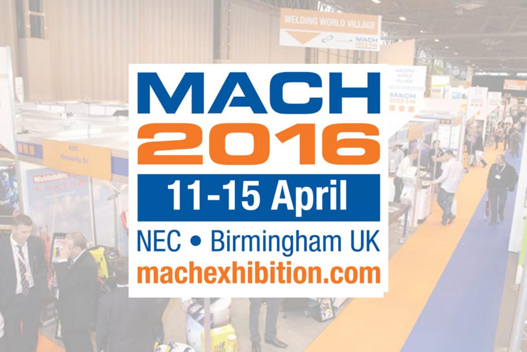 Join us at Mach 2016