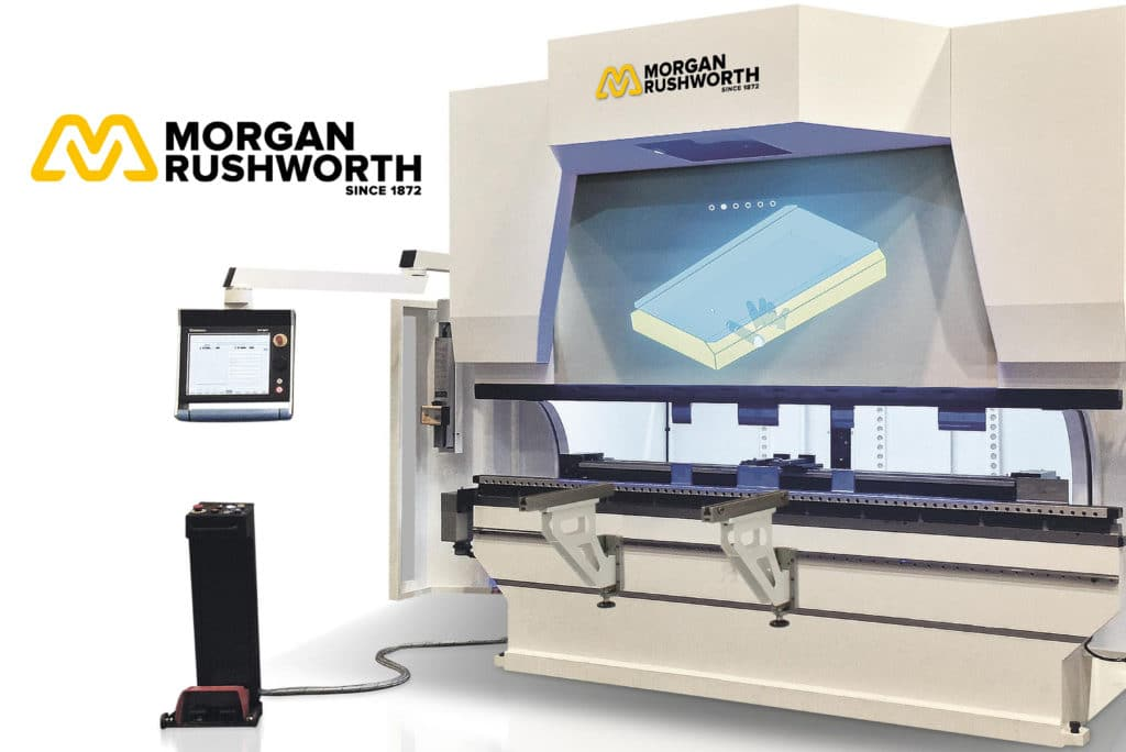 Folding of the Future with the Morgan Rushworth mVision Pressbrake
