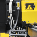 A selection of the Power and Gas cables that supplies an Ajan Plasma Cutter