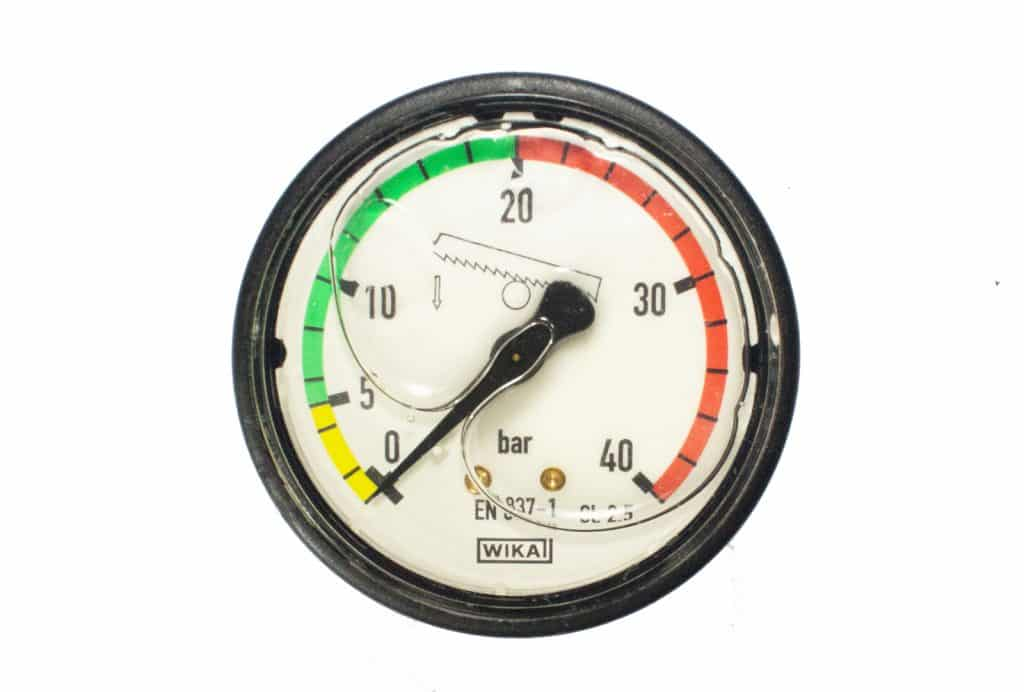 25096 Hydraulic Pressure Gauge For Bianco Automatic Bandsaw