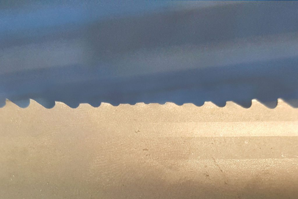 Why Does My Bandsaw Blade Strip It's Teeth?