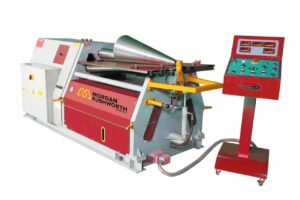 Morgan Rushworth Conical Bending Machine with Control Panel
