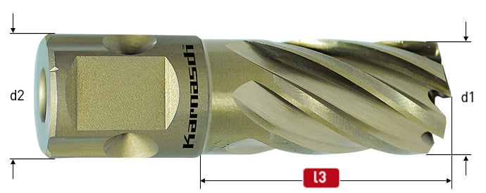 Close up image of a Goldline Universal 30mm Mag Cutter