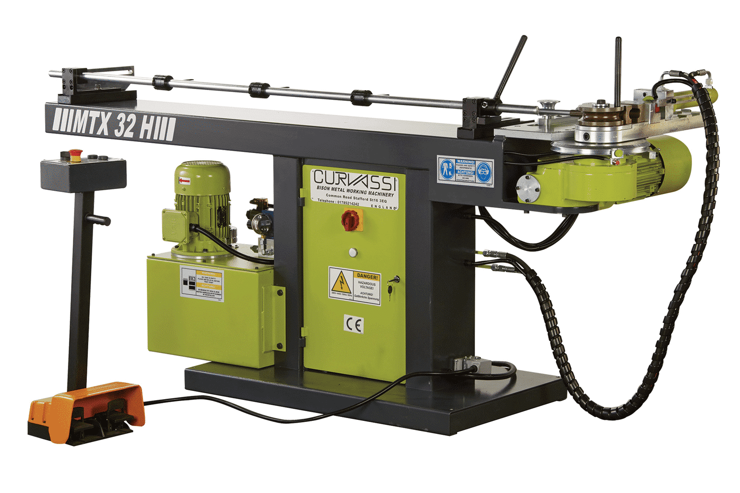 Curvassi-MTX32H-Mandrel-Tube-Bender