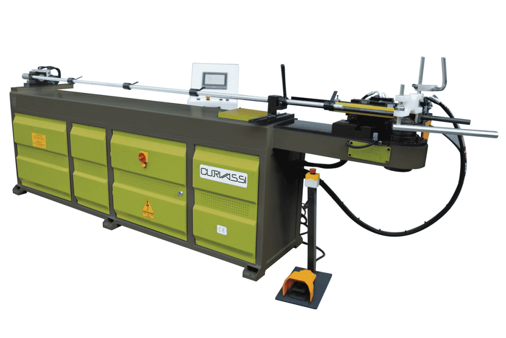 Side View of the Curvassi-MTX65NC-Mandrel-Tube-Bender