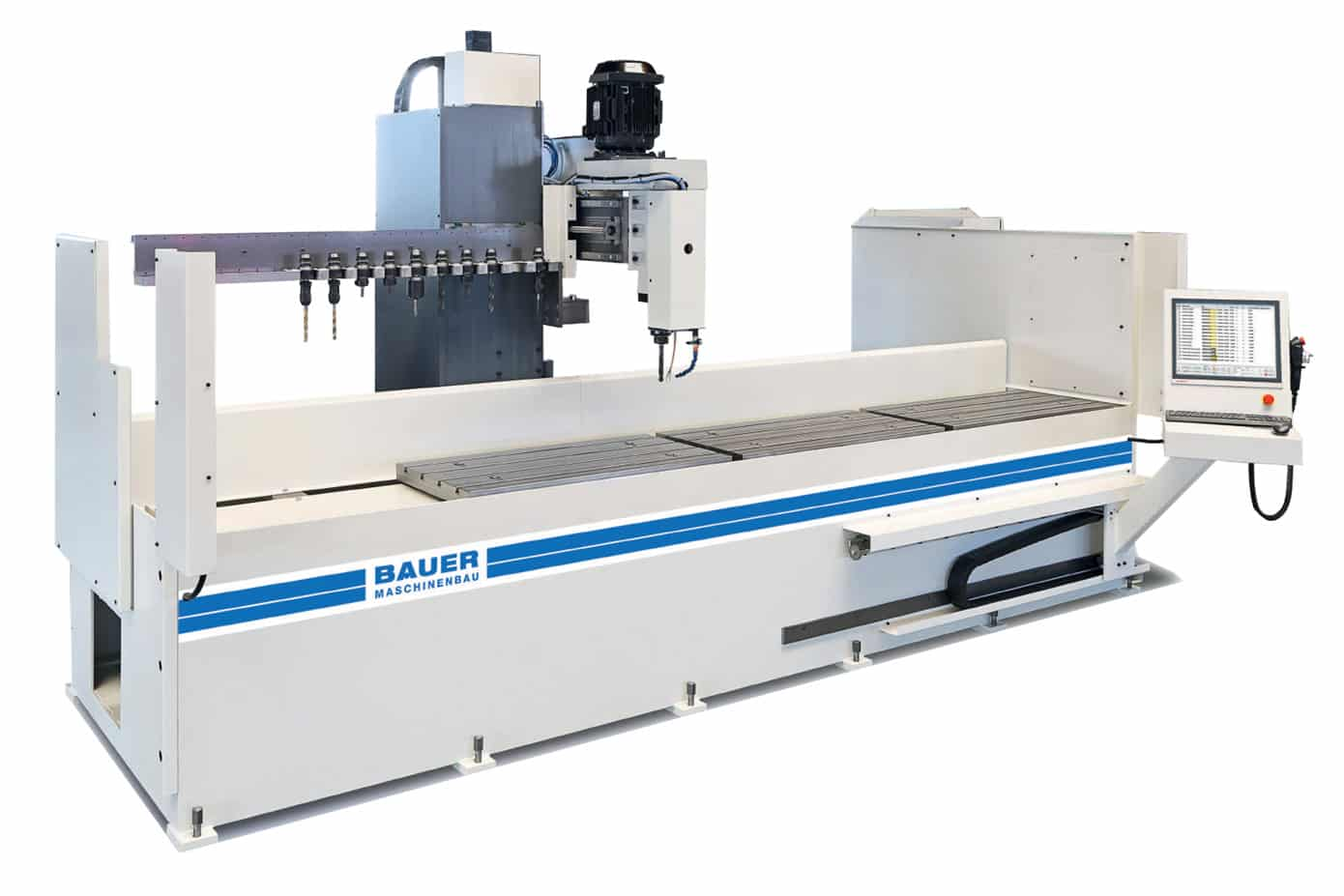 Bauer Bohrmax Z CNC Automatic Drill and Mill