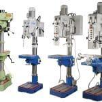 Image of the MG32C Bema, SR32, SR32AE and SR50 Meyer Pillar Drills