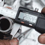 Image of a gauge measuring metal