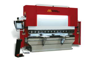 Front view of the Morgan Rushworth PBSX CNC Press Brake