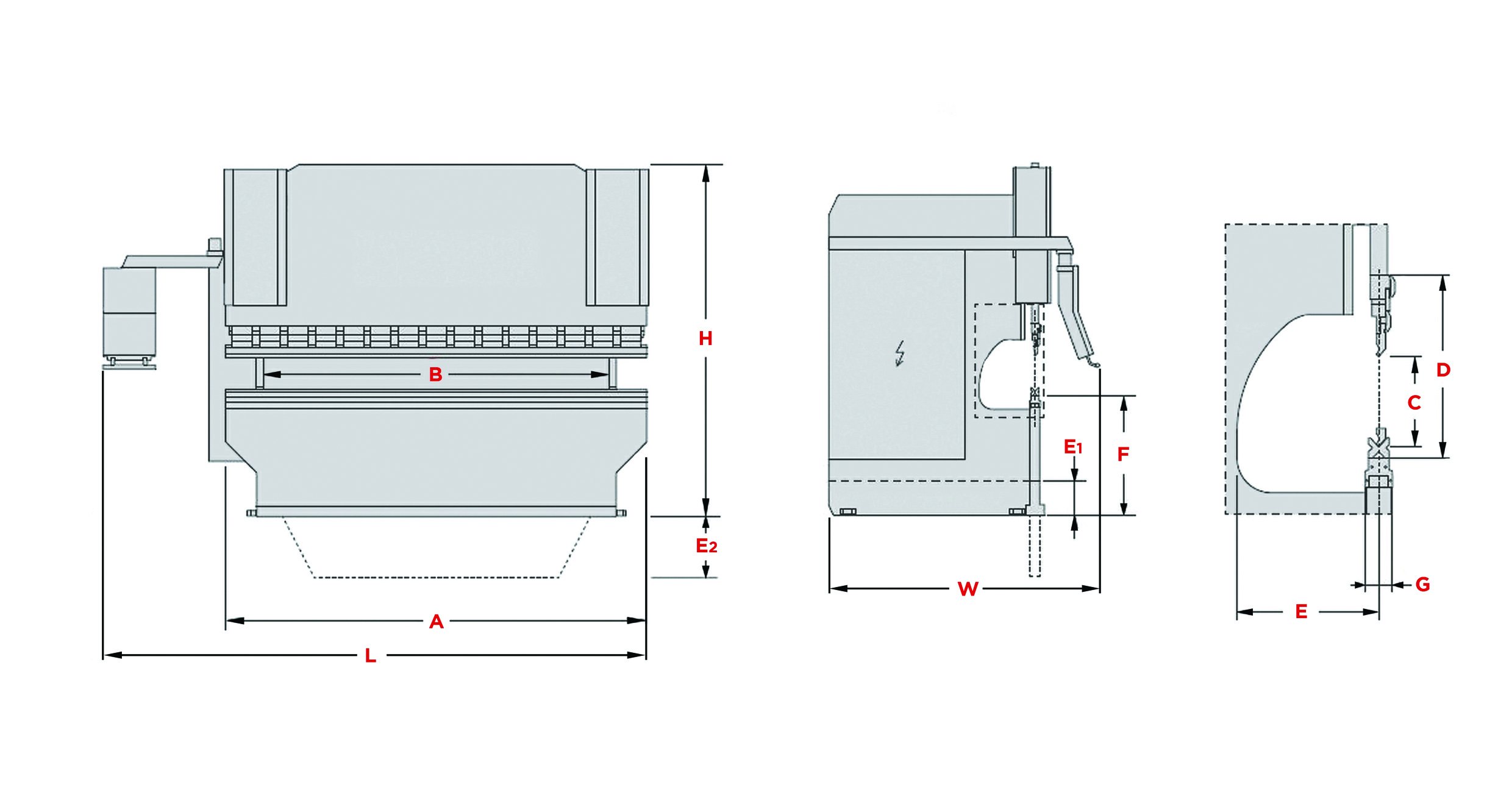 Morgan Rushworth Press Brake PBXS Diagram
